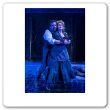Heather in Sweeney Todd with David Studwell, photo by David Bazemore