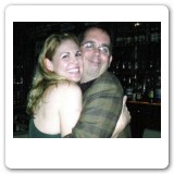 Heather at Opening Night with Gregg Coffin (writer of Five-Course Love) - Oct 2005