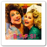 Heather in Hairspray, with Bryan Batt