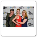 Heather with Bryan Batt and Taylor Louderman