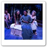 Intimate Apparel with Karole Foreman, Leilani Smish, and AK Murtadha, photo credit David Bazemore