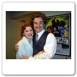 Heather as Elizabeth with Roger Bart